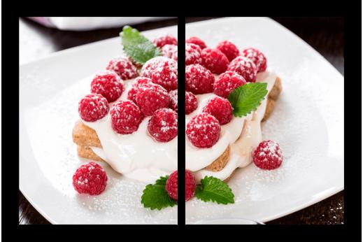Картина Малиновый десерт